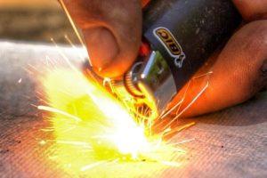 Got An Empty Or Broken Lighter? Don't Worry, You Can Still Use It To Start A Fire! 12