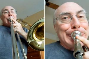 With A GoPro And His Trombone, This Guy Created The Most Amusing Video Of All Time 12