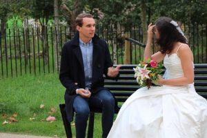 This Woman Pranked Tinder Dates By Wearing Wedding Dress On First Date 12