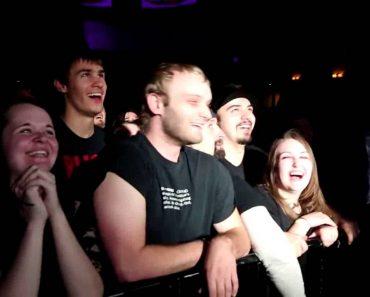 Concert-Goer Responds To Rhetorical Question 9