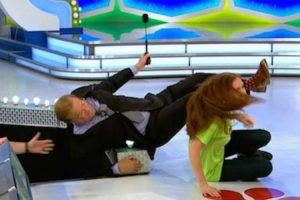 This Price Is Right Contestant Got So Excited She Knocked Host Drew Carey Over 10