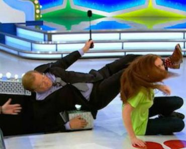 This Price Is Right Contestant Got So Excited She Knocked Host Drew Carey Over 4