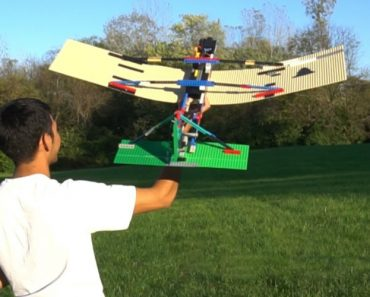 Dude Builds LEGO RC Plane That Soars Through The Sky... Until It Doesn't 3