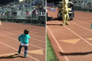 Little Girl's Dance Moves Are Way Better Than Whatever Sports Event Is Also Happening 11