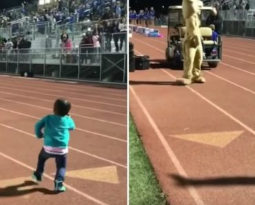 Little Girl's Dance Moves Are Way Better Than Whatever Sports Event Is Also Happening 2