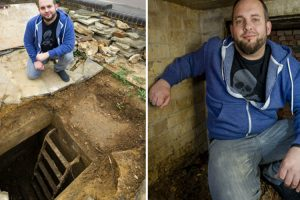 Man Finds Complete WW2 Air Raid Shelter Beneath His Luton Driveway 11