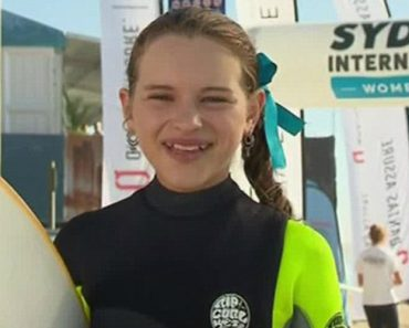 This 11-Year-Old Surfing Champ Gave The Greatest Live TV Interview 1