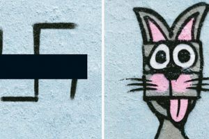 Someone In Berlin Came Up With A Creative Way To Fight Swastikas That Started Appearing On The Streets 10