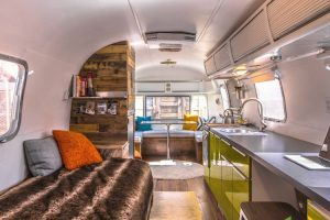 This Man Turns '70s Airstream Into a Cool, Happy Home 11