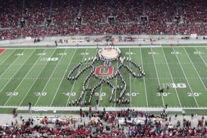 Ohio State's Marching Band Performs Amazing Superhero-Themed Halftime Show 11