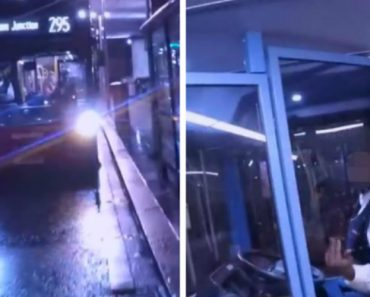 Bus Driver Traps An Angry Biker Inside The Double Decker 2
