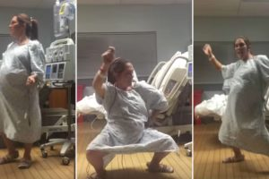 Pregnant Woman Dances Her Way Into Labor And She Totally Kills It! 9