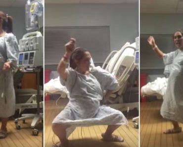 Pregnant Woman Dances Her Way Into Labor And She Totally Kills It! 5
