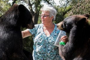 This Granny Lives With Two Grizly Bears And A White Tiger 11
