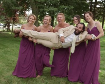 Bridal Party Drops Groom On Wedding Day 5