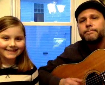 Father and Daughter Sing Moving Version of 'Lean on Me' to Fight Homelessness 9