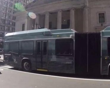 Eagles Fans Go Nuts When City Bus Blocks Their View Of The Super Bowl Parade 4