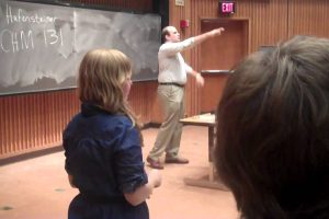 Fake Chemistry Professor Pranks Students On First Day Of Class 12