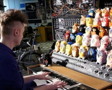 Guy Creates Creepy but Clever Furby Organ 9