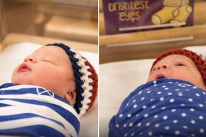 Babies Compete for 'Strongest Lungs,' 'Best Napper' in Maternity Ward 'Olympics' 11