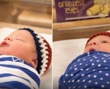 Babies Compete for 'Strongest Lungs,' 'Best Napper' in Maternity Ward 'Olympics' 4