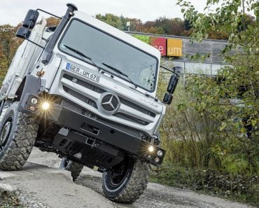 Mercedes Unimog: The Most Capable And Extreme Off Road 4x4 Vehicle In The World 6