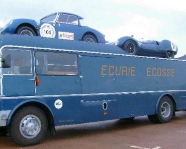 Ecurie Ecosse Racing Car Transporter – The Coolest Bus Ever 7