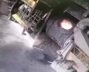 An Illustration Of How Quickly Things Can Go Wrong In A Steel Factory 9