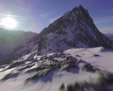 Guy Risks His Racing Drone Flying Up A Mountain. Gets Rewarded With Some Beautiful Footage 9