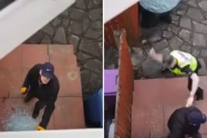 Man Waits Patiently For Police To Arrive As A Burglar Breaks Into His House 12