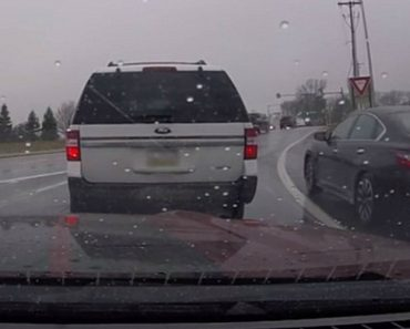 Things Go Instantly Wrong For Road Rage Driver Illegally Passing Everybody 4