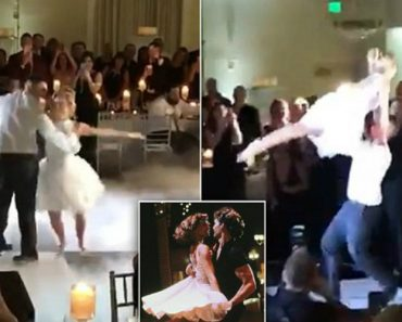 """This Couple Recreated Your Favorite Scene From """"Dirty Dancing"""" And It Is Incredible 8"""