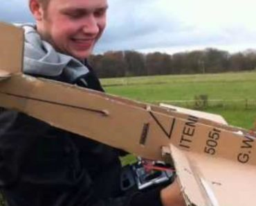Nothing Will Make You Happier Than This Cardboard Plane That Actually Flies 5