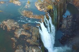 Beautiful Drone Footage of Victoria Falls 10