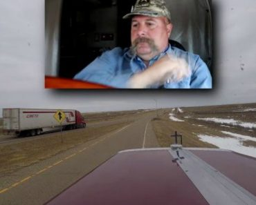 Truck Driver Loses It 6