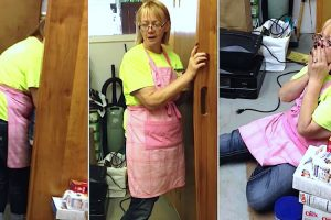 She's Cleaning Up, Then Turns To See Husband Solved A Mystery That's Haunted Her For 15 Years 10