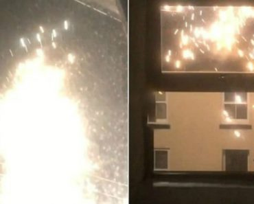 Shocked Resident Films Sparking Electricity Cable Gone Wild 3
