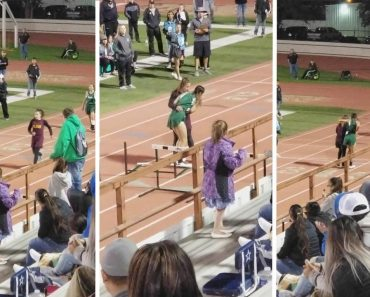 Kindhearted Runner Helps Opponent Cross Finish Line After Harsh Fall 4