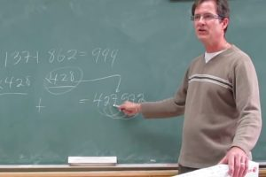 A Teacher Challenges Students Armed With Calculators To Solve A Math Problem First 11
