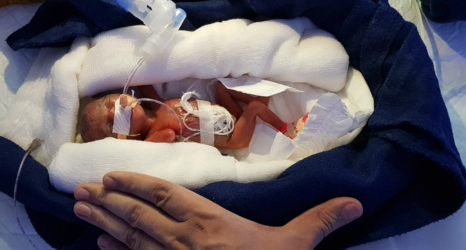 Baby Born In Car Park
