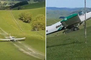 This Crop Dusting Pilot's Turn Around Is Insane. Just Watch 11