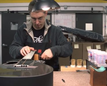 A Fascinating Factory Tour Of Mcpherson Guitars That Shows A Full Build Of A Carbon Series Guitar 8