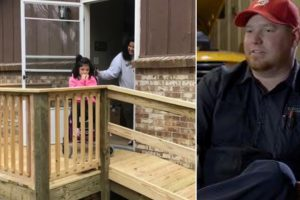 Bus Driver Builds Ramp For 10-Year-Old In Wheelchair Struggling To Leave Home 11