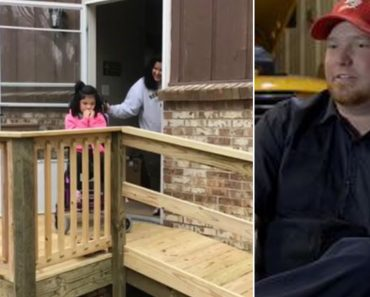 Bus Driver Builds Ramp For 10-Year-Old In Wheelchair Struggling To Leave Home 4