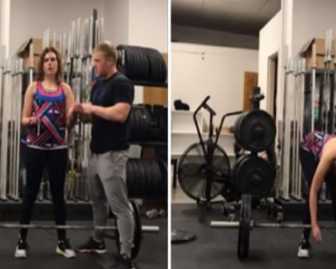 The Unpredictable Danger OF A Blind Weight Lifter 4