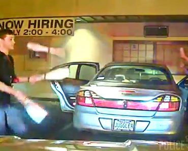 Dashcam Shows Student Juggles To Prove Sobriety To Police 7