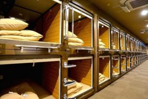 What It's Like to Stay at a Japanese Capsule Hotel 10