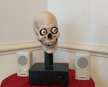 Man Hacks His Alexa To Speak Out Of A Skull And It's Horrifying 2