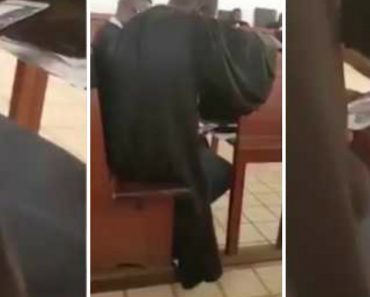 Pastor Caught Watching Twerking Video In Church Pew Surrounded By Worshippers 4