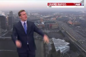 Upset Weatherman loses it at colleagues complaining about the cold weather 11